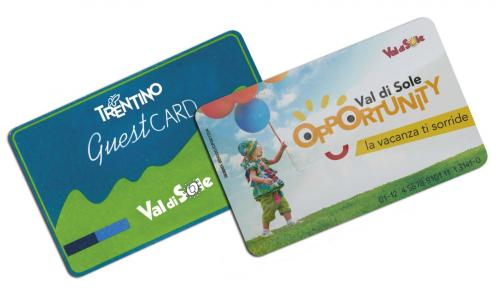 Val di Sole Opportunity e Guesta Card
